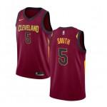 JR Smith #5 Cleveland Cavaliers Granate Swingman Camiseta Tienda
