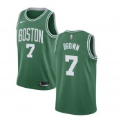 Jaylen Brown #7 Boston Celtics Verde Swingman Camiseta Madrid Precio de Descuento