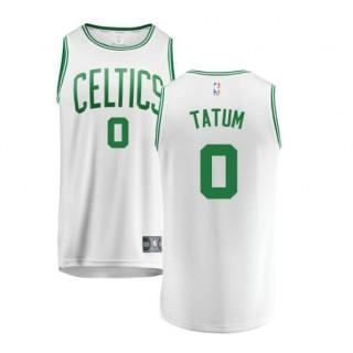 Jayson Tatum #0 Boston Celtics Verde Swingman Camiseta Precio