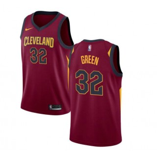 Jeff Green #32 Cleveland Cavaliers Granate Swingman Camiseta Precio Al Por Mayor