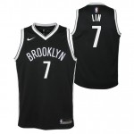 Moda Jeremy Lin - Adolescentes Brooklyn Nets Nike Icon Swingman Camiseta de la NBA