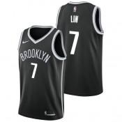 Jeremy Lin - Hombre Brooklyn Nets Nike Icon Swingman Camiseta de la NBA Baratas Online