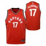 Oficiales Jonas Valanciunas - Adolescentes Toronto Raptors Nike Icon Swingman Camiseta de la NBA