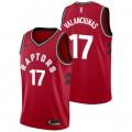 Jonas Valanciunas - Hombre Toronto Raptors Nike Icon Swingman Camiseta de la NBA Promoción