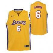 Jordan Clarkson - Adolescentes Los Angeles Lakers Nike Association Swingman Camiseta de la NBA Sitio Oficial España