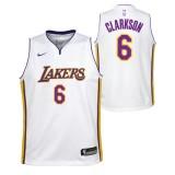 Jordan Clarkson - Adolescentes Los Angeles Lakers Nike Icon Swingman Camiseta de la NBA Baratas Originales