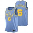 Jordan Clarkson - Hombre Los Angeles Lakers Nike Classic Edition Swingman Camiseta Descuento