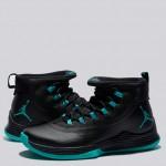 Jordan Ultra Fly 2 Zapatilla de Baloncesto - Negro/Clear Jade-Negro - Hombre Precio De Descuento