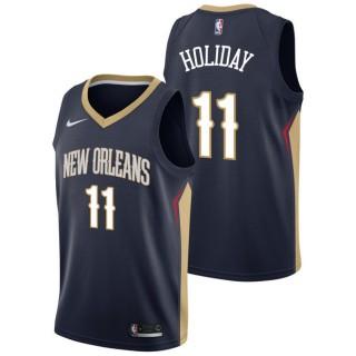 Nuevo Jrue Holiday - Hombre New Orleans Pelicans Nike Icon Swingman Camiseta de la NBA