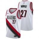 Jusuf Nurkic - Hombre Portland Trail Blazers Nike Association Swingman Camiseta de la NBA Baratas Precio