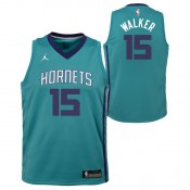 Kemba Walker - Adolescentes Charlotte Hornets Nike Icon Swingman Camiseta de la NBA Outlet Barcelona