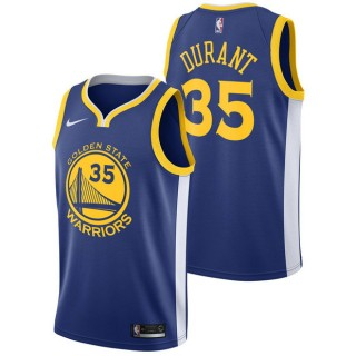 Original Kevin Durant #35 - Hombre Golden State Warriors Nike Icon Swingman Camiseta de la NBA