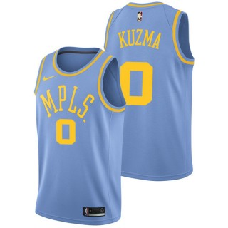 Kyle Kuzma - Hombre Los Angeles Lakers Nike Classic Edition Swingman Camiseta Baratas