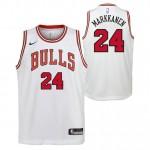 Lauri Markkanen - Adolescentes Chicago Bulls Nike Association Swingman Camiseta de la NBA Baratas Precio