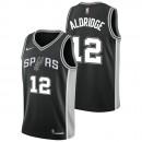 LeMarcus Aldridge - Hombre San Antonio Spurs Nike Icon Swingman Camiseta de la NBA Barcelona