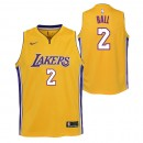Lonzo Ball #2 - Adolescentes Los Angeles Lakers Nike Association Swingman Camiseta de la NBA Outlet Caspe