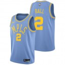 Lonzo Ball #2 - Hombre Los Angeles Lakers Nike Classic Edition Swingman Camiseta Ventas Baratas Andalucia