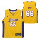 Los Angeles Lakers Nike Icon Replica Camiseta de la NBA - Andrew Bogut - Niño Ofertas