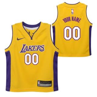Colección Los Angeles Lakers Nike Icon Replica Camiseta de la NBA - Personalizada - Niño Baratas