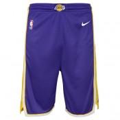 Los Angeles Lakers Nike Statement Swingman Pantalones cortos - Adolescentes Precio Promocional