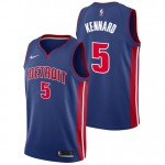 Luke Kennard - Hombre Detroit Pistons Nike Icon Swingman Camiseta de la NBA Baratas Outlet