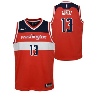 Marcin Gortat - Adolescentes Washington Wizards Nike Icon Swingman Camiseta de la NBA En Madrid