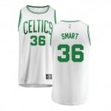 Marcus Smart #36 Boston Celtics Verde Swingman Camiseta Venta