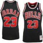 Comprar Mens Chicago Bulls Michael Jordan Mitchell & Ness Negro  97- 98 Hardwood Classics Authentic Camiseta