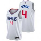 Milos Teodosic - Hombre LA Clippers Nike Association Swingman Camiseta Precio De Descuento