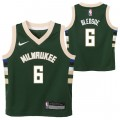Original Milwaukee Bucks Nike Icon Replica Camiseta - Eric Bledsoe - Toddler