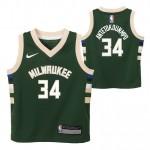 Milwaukee Bucks Nike Icon Replica Camiseta de la NBA - Giannis Antetokounmpo - Niño Precio Barato