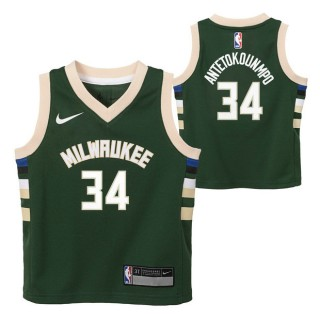 Milwaukee Bucks Nike Icon Replica Camiseta de la NBA - Giannis Antetokounmpo - Niño Precio Barato