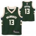 Milwaukee Bucks Nike Icon Replica Camiseta de la NBA - Malcolm Brogdan - Niño Compras En Línea