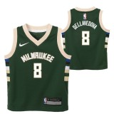 Milwaukee Bucks Nike Icon Replica Camiseta de la NBA - Matthew Dellavedova - Niño Venta Al Por Mayor