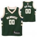 Milwaukee Bucks Nike Icon Replica Camiseta de la NBA - Personalizada - Niño Outlet Bonaire