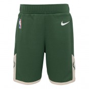 Milwaukee Bucks Nike Icon Replica Pantalones cortos - Niños Baratas Originales