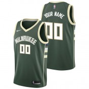 Rebajas en Milwaukee Bucks Nike Icon Swingman Camiseta de la NBA - Personalizada - Hombre Madrid