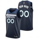 Minnesota Timberwolves Nike Icon Swingman Camiseta de la NBA - Personalizada - Hombre Baratas