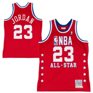 Mitchell & Ness Michael Jordan Chicago Bulls 1988-89 All-Star Hardwood Classics Authentic Vintage Camiseta - Red Venta