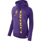 Mujer Los Angeles Lakers Púrpura Modern Cape Full-Zip Capucha Precio Promocional
