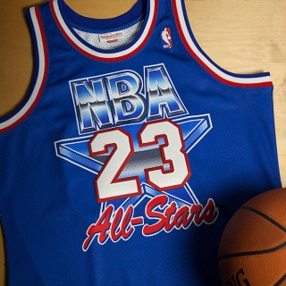 NBA All-Star East Michael Jordan 1993 Authentic Camiseta by Mitchell & Ness al Mejor Precio