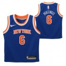 New York Knicks Nike Icon Replica Camiseta de la NBA - Kristaps Porzingis - Niño Baratos