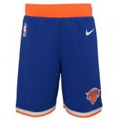 New York Knicks Nike Icon Replica Pantalones cortos - Niños Madrid Precio de Descuento