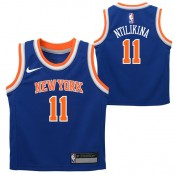 New York Knicks Nike Icon Replics Camiseta - Frank Ntilikina - Infant Precios