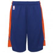 New York Knicks Nike Practise Pantalones cortos - Rush Azul/Brilliant Orange - Adolescentes Ventas Baratas Andalucia
