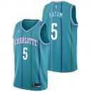 Nicolas Batum - Hombre Charlotte Hornets Jordan Classic Edition Swingman Camiseta Oficiales