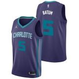 Original Nicolas Batum - Hombre Charlotte Hornets Nike Statement Swingman Camiseta de la NBA