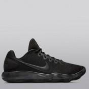 Nike Hyperdunk 2017 Low Zapatilla de Baloncesto - Negro/Negro-Dark Gris - Hombre Baratos