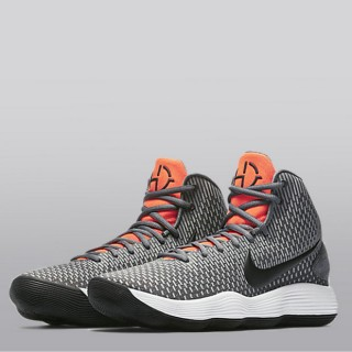 Nike Hyperdunk 2017 Zapatilla de Baloncesto - Dark Gris/Negro-Bright Crimson - Hombre Ventas Baratas