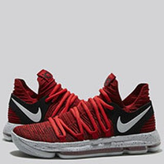 Nike Zoom KD 10 Zapatilla de Baloncesto - University Rojo/Pure Platinum-Negro - Hombre Venta españa